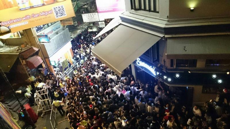 ランカイフォン 香港 クラブ ナイトライフ
